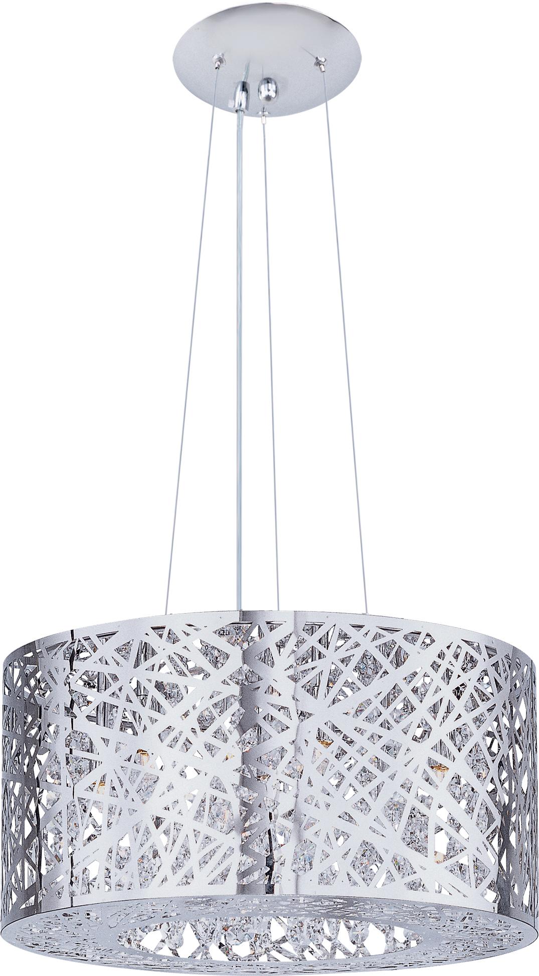 inca 7 light pendant w led bulb multi light pendant maxim lighting