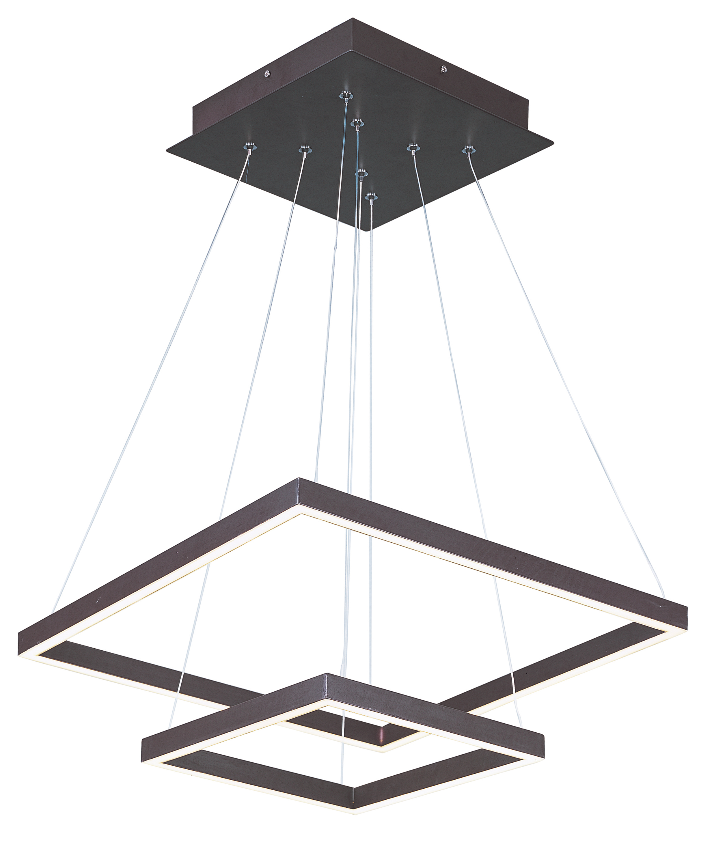 quad led 2 tier pendant single pendant maxim lighting quad