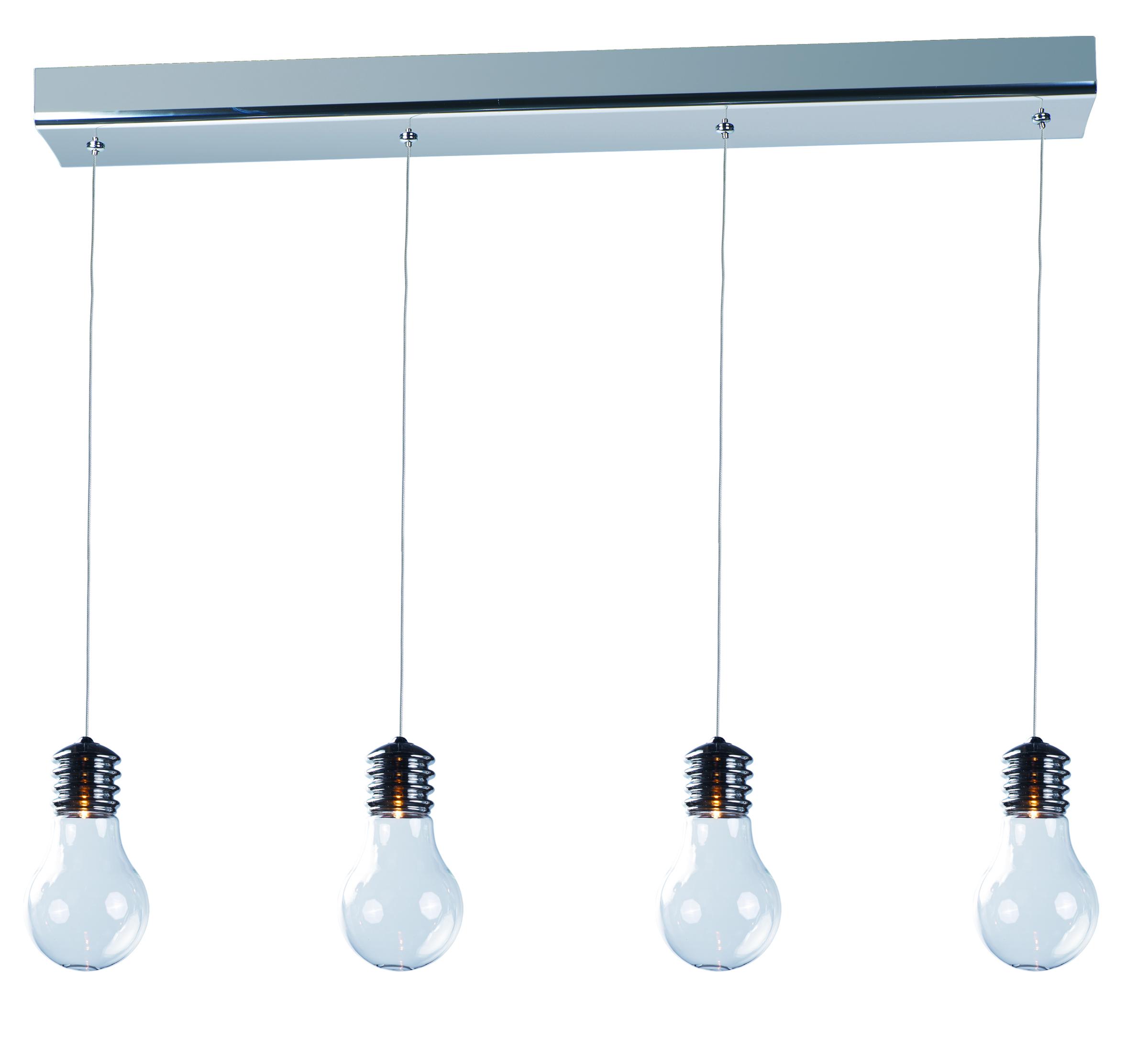 Edison 4 light pendant linear pendant maxim lighting edison aloadofball Images
