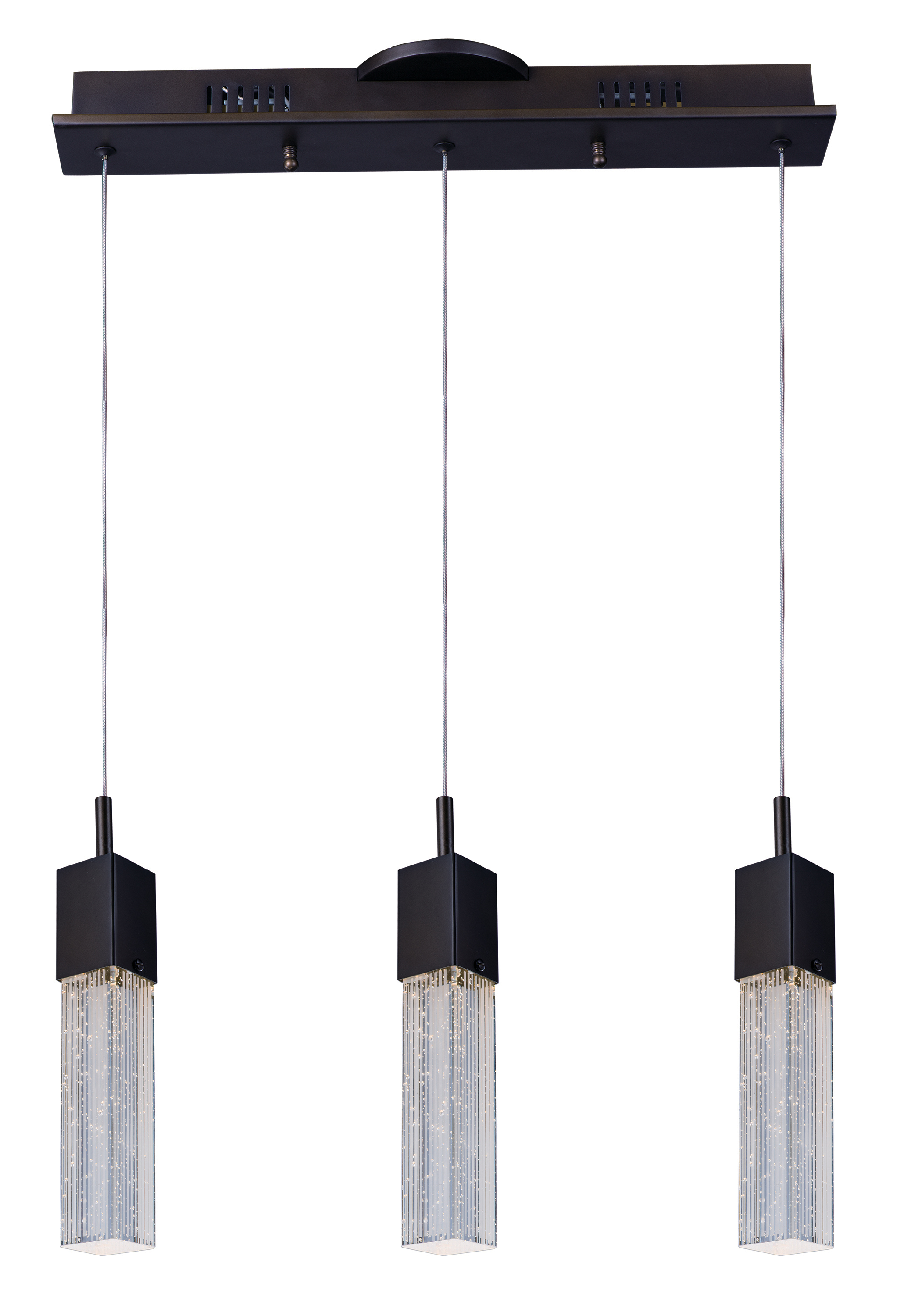 Fizz III 3 Light LED Pendant Linear Pendant Maxim Lighting