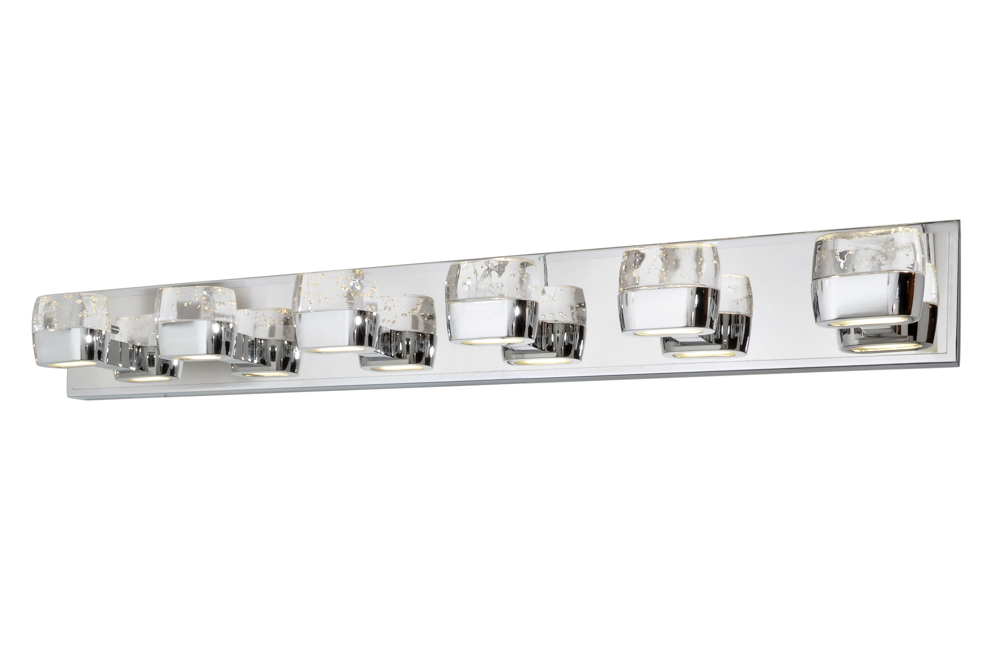 Led Battery Vanity Lights : Volt LED 12-Light Bath Vanity - Bath Vanity - Maxim Lighting