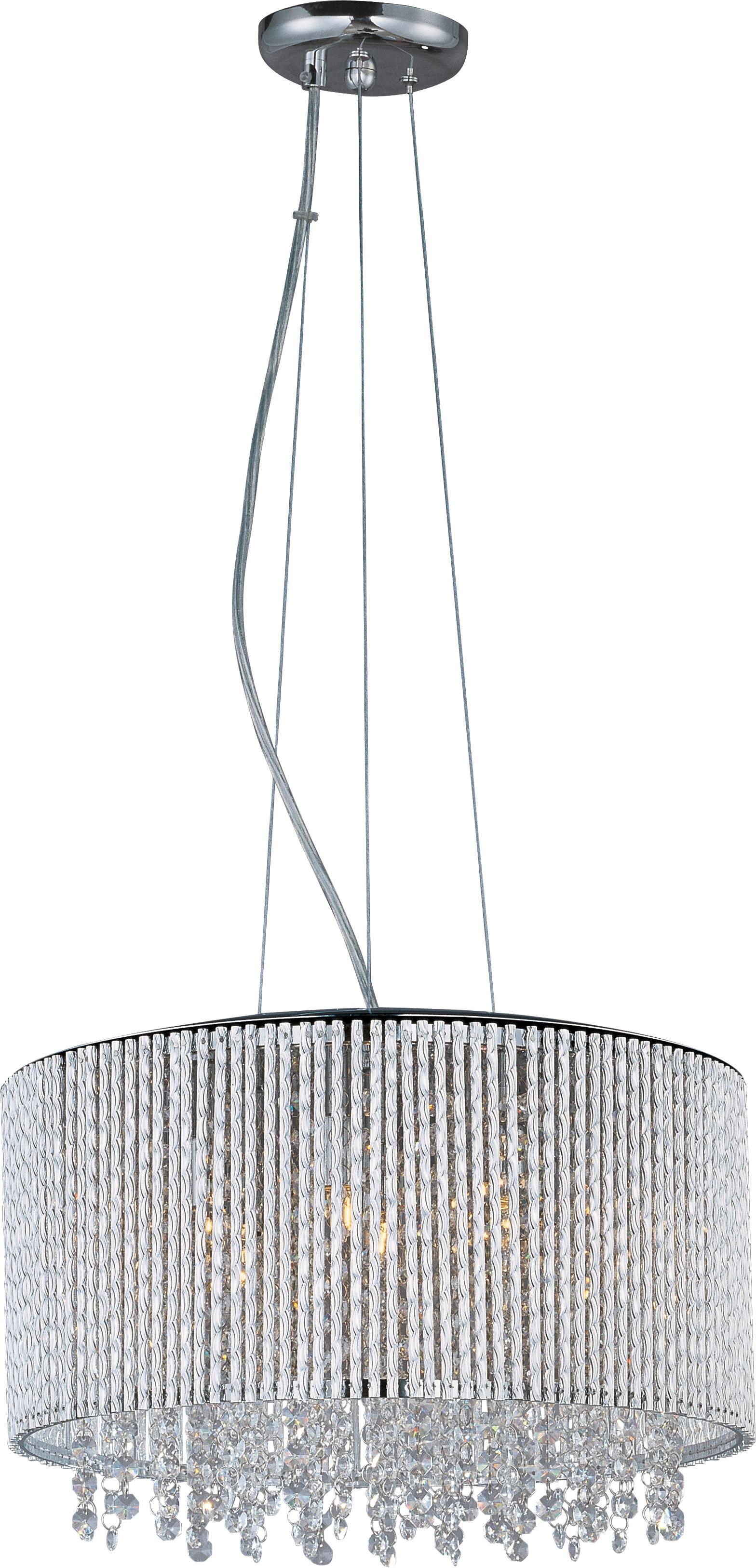 Spiral 7 Light Pendant