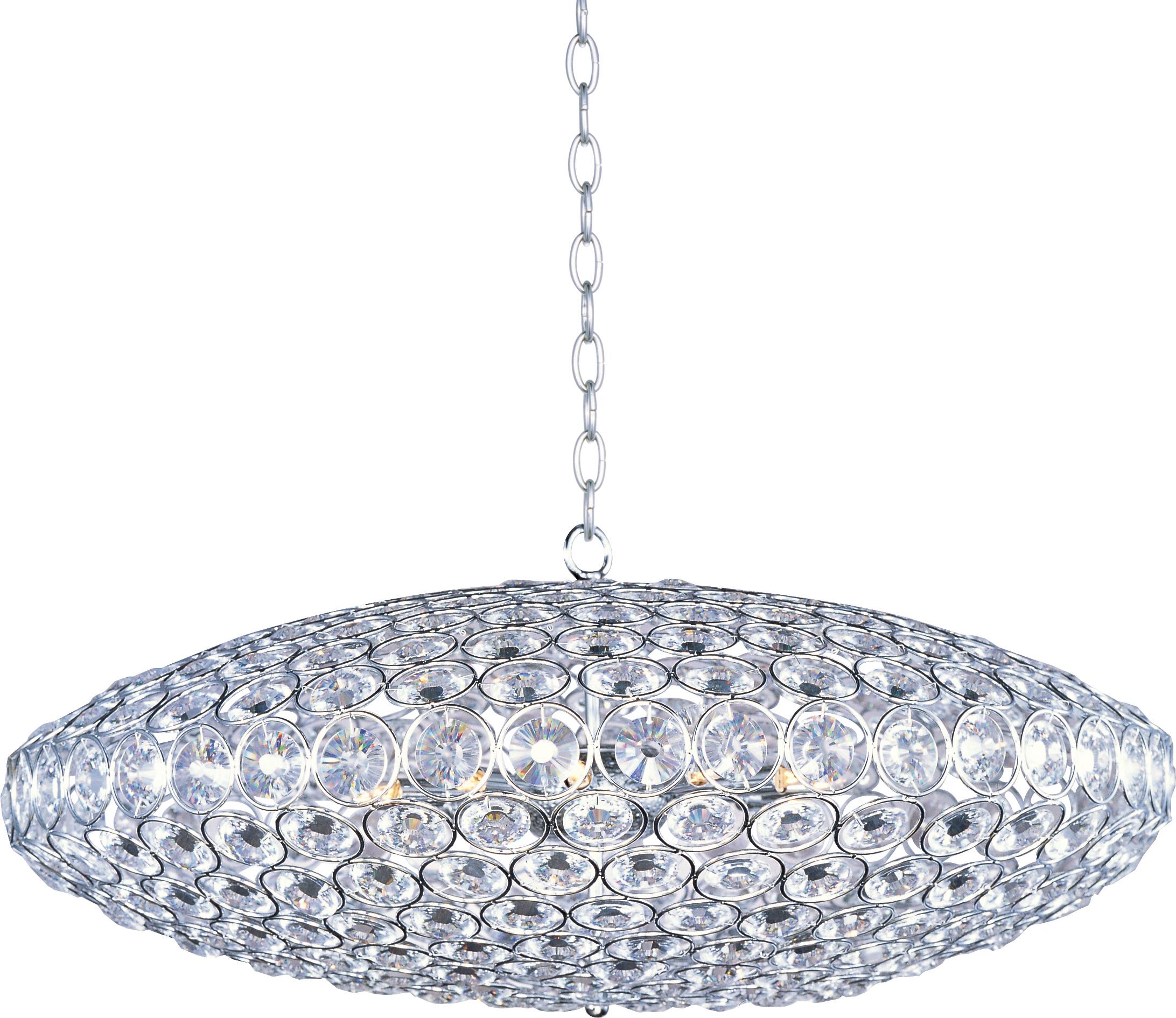 Brilliant Brilliant 12-Light Pendant ...  sc 1 st  Et2 & Brilliant 12-Light Pendant - Single Pendant - Maxim Lighting