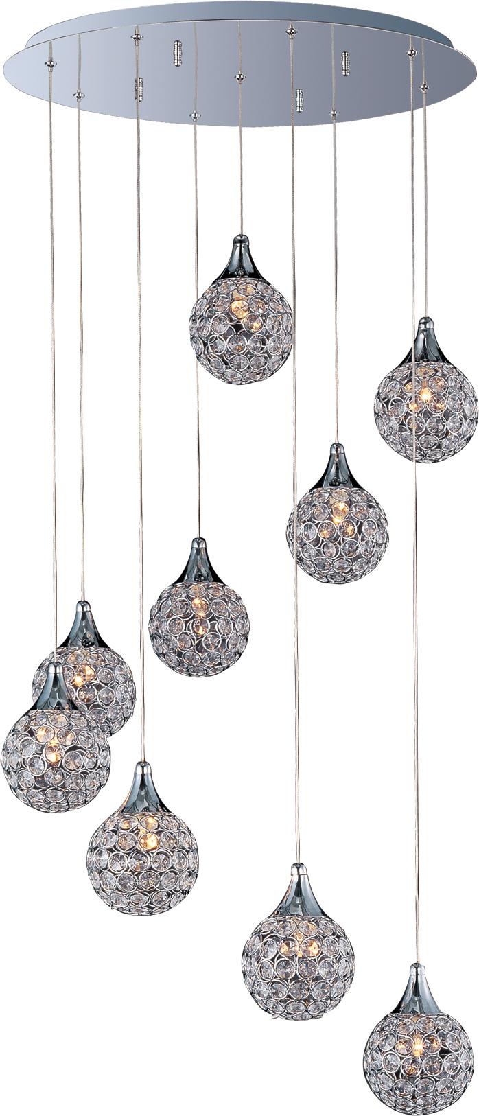 Brilliant 9 light pendant multi light pendant maxim lighting brilliant arubaitofo Images