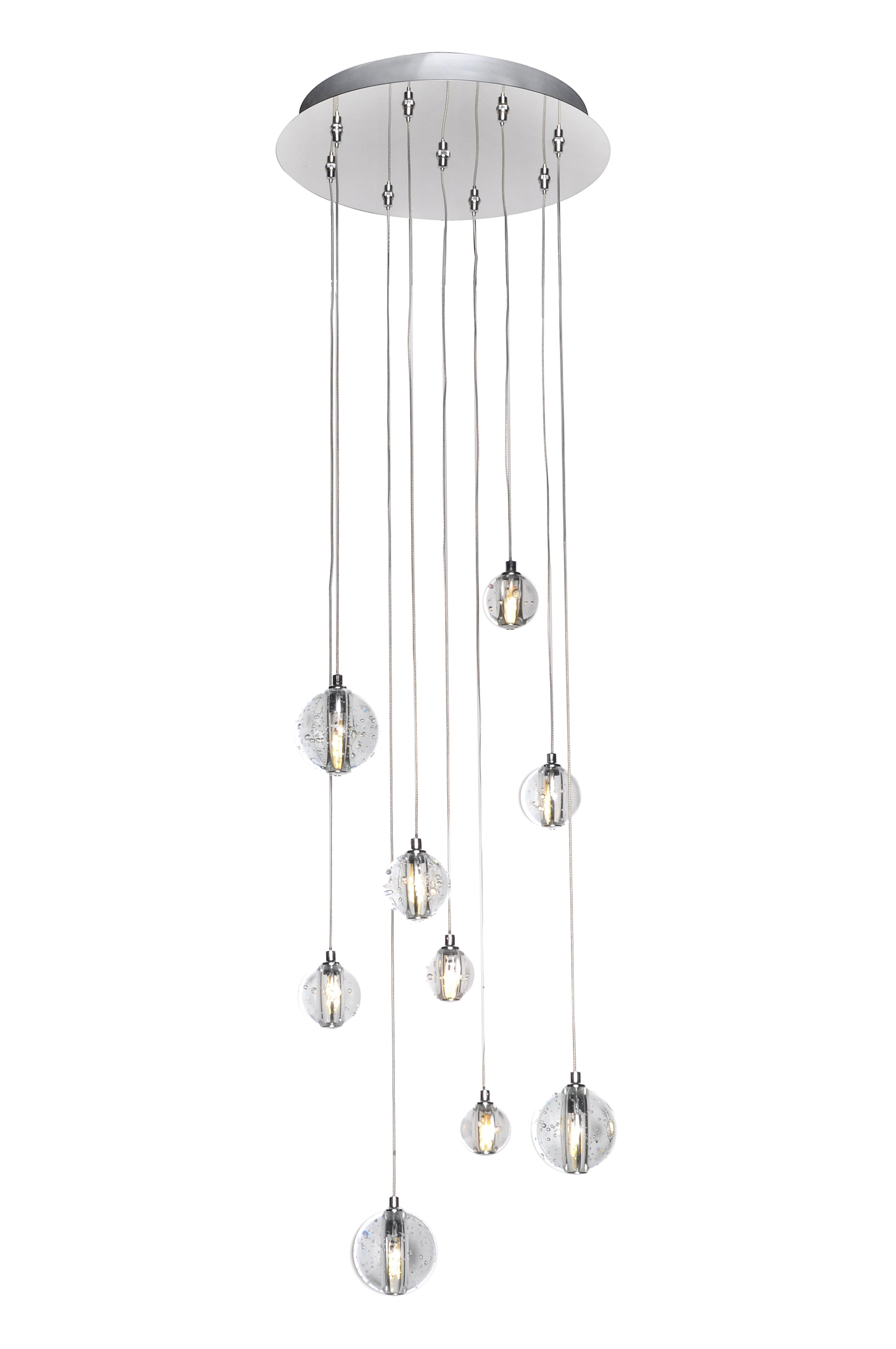 Harmony 9 Light LED Pendant Multi Light Pendant Maxim Lighting