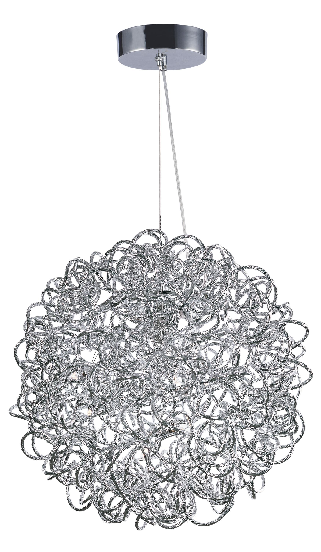 dazed led 8 light pendant single pendant maxim lighting