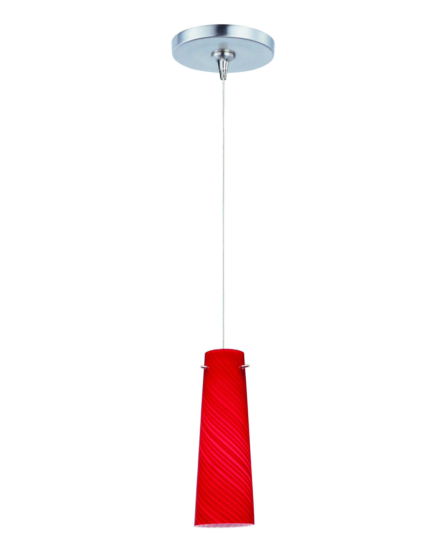 Pendant light small canopy : Sprial light rapidjack pendant and canopy mini