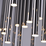 Flute 35-Light LED Pendant