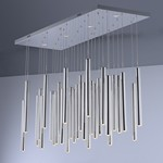 Flute LED 35-Light Pendant