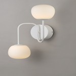 Puffs 2-Light Wall Sconce
