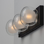 Pod LED 3-Light Wall Sconce