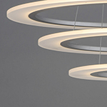 Saturn II LED 3-Light Pendant