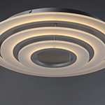 Saturn II LED 3-Light Flush Mount