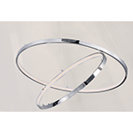 Hoops 2-Light LED Pendant