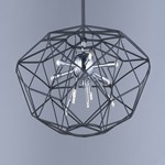 Rubic LED 12-Light Pendant