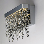 Midnight Shower LED Wall Sconce