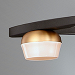 Button 18-Light LED Pendant