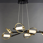Flare 6-Light LED Pendant