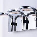 Cobra 3-Light Wall Sconce