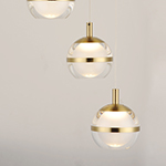 Swank LED 3-Light Pendant