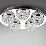 Eclipse LED 5-Light Flush Mount