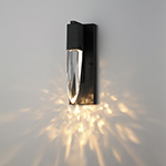 Quartz LED 1-Light Wall Sconce