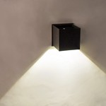 Alumilux: Cube LED Outdoor Wall Sconce