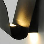 Alumilux: Lapel LED Outdoor Wall Sconce