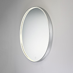"24"" x 30"" Oval LED Mirror"