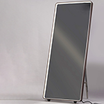 "28"" x 67"" LED Mirror with Kick Stand"