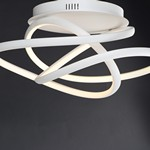 Twisted LED Flush Mount