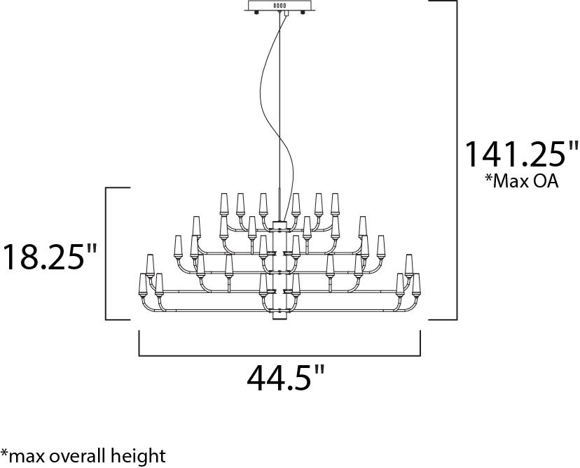 candela led pendant