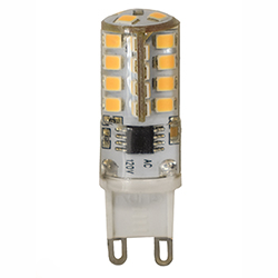 Model #BL23G9CL30 Item #BUL-2.3W-G9-CL-120V-830