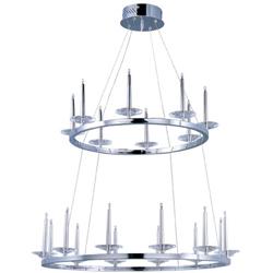 circolo 20 light chandelier chandelier maxim lighting